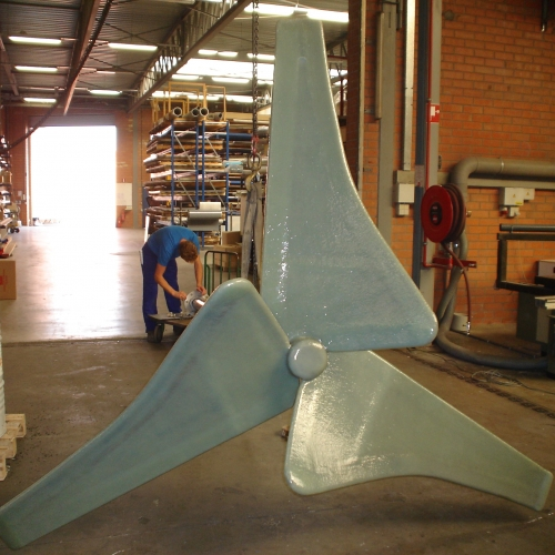 Teblick giant propellor sheet lining