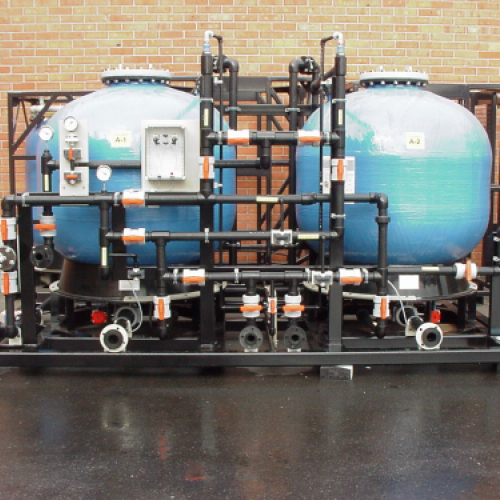 Teblick Water treatment unit to create potable water
